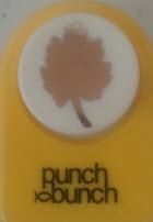 Hawthorne Leaf Medium Punch