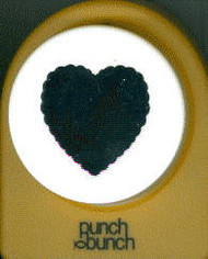 51mm Scallop Heart Punch