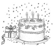Birthday Cake - 103M02