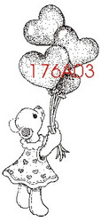 Balloon Bear - 176A03