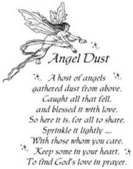 Angel Dust Rubber Stamp - 114W01
