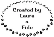 Paw Print Custom Rubber Stamp