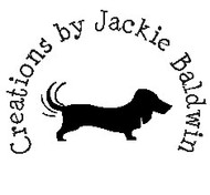 Dachshund Custom Rubber Stamp