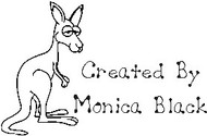 Kangaroo Custom Rubber Stamp