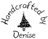 Christmas Tree Custom Rubber Stamp