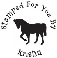 Horse Custom Rubber Stamp