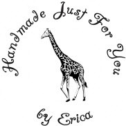 Giraffe Custom Rubber Stamp