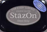 Dove Gray StazOn Ink Pad