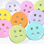 Button Pastel Large Brads