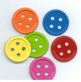 Button Bright Medium Brads