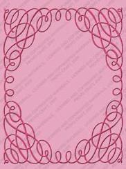 Scrollwork Embossing Folder
