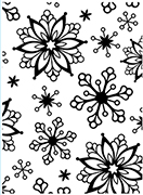 Snowflakes Embossing Folder
