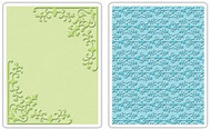Corners & Damask Embossing Folder Set