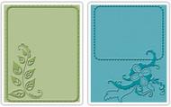 Elegant Vine & Flair Embossing Folder Set