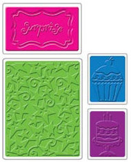Birthday Surprise Embossing Folder Set