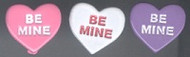 Be Mine Heart Brads