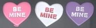 Be Mine Heart Brads