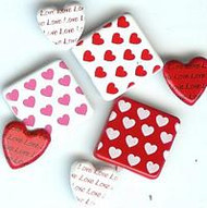 Assorted Heart Large Brads