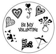 Valentine Clear Stamp Set