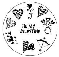 Valentine Clear Stamp Set
