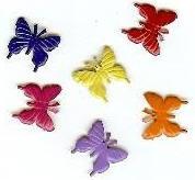 Butterfly Monarch Bright Brads