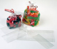 "2"" x 5"" Clear Gusset Bag - G25"