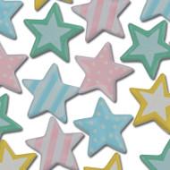 Pastel Star Brads