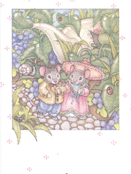 Mice Note Cards