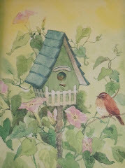 Birdhouse Note Cards