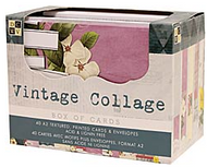 Vintage Collage Note Cards