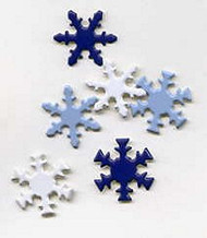 Snowflake Winter Brads