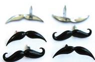 Mustache Brads