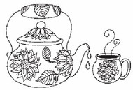 Sunflower Pot & Cup - 77M07