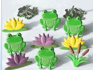 Frog Mix Brads