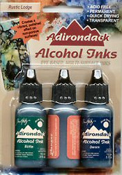 Rustic Lodge Alcohol Ink Set