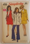 Vintage Simplicity 8115 Sewing Pattern