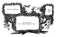 Tree Envelope Stamp