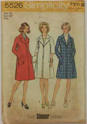 Vintage Simplicity 5526 Sewing Pattern
