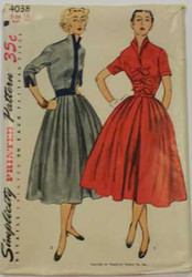 Vintage Simplicity 4038 Sewing Pattern