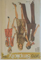 Vintage Simplicity 9170 Sewing Pattern