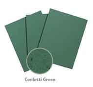 Green Confetti Cardstock