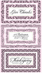 JustRite Give Thanks Nested Frames & Occasions