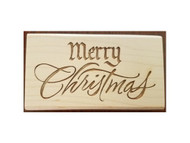 Merry Christmas Rubber Stamp 209H06