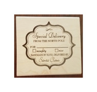 Special Delivery Rubber Stamp