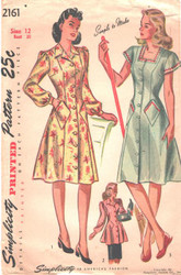 Uncut  Vintage Simplicity 2161 Sewing Pattern Size 12