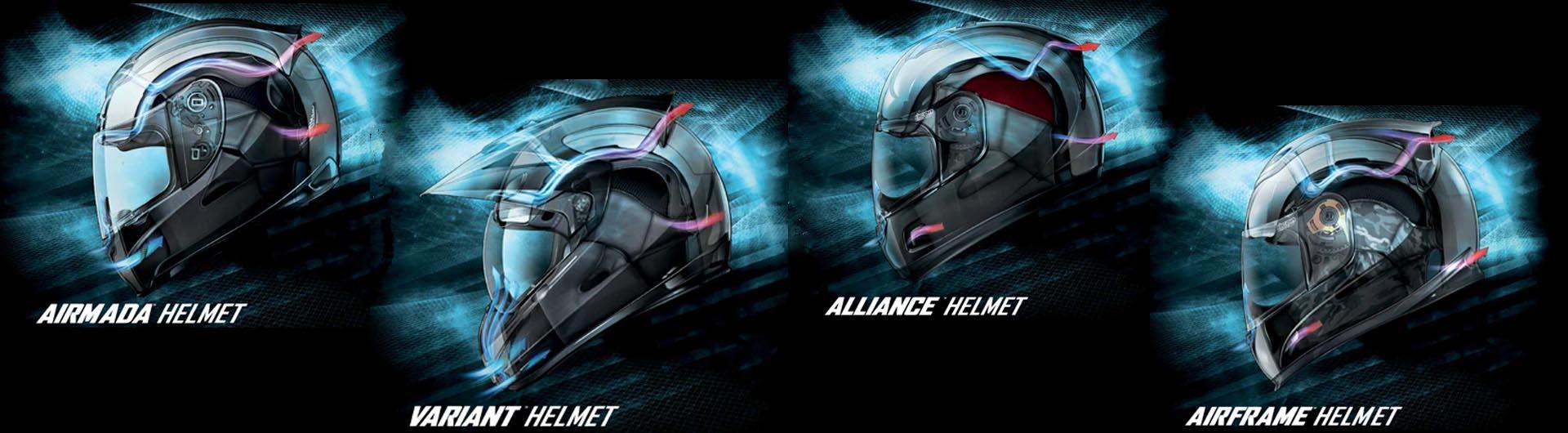 Icon 2015 Motorcycle Helmet Range