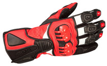 ARMR Moto S235 Sports Motorcycle Gloves - Black / Red