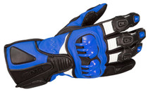 ARMR Moto S235 Sports Motorcycle Gloves - Black / Blue