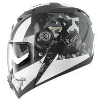 Shark S700S Trax Helmet - Matt Black / Silver / Anthracite