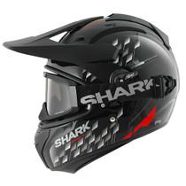 Shark Explore R Arachneus Helmet - Black / Red / Silver